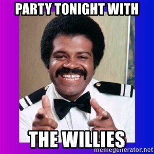 Love Boat Isaac - Party tonight with The Willies