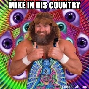 PSYLOL - MIKE IN HIS COUNTRY