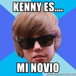 Just Another Justin Bieber - Kenny es.... mi NOVIO