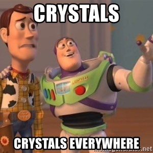 Tseverywhere - CRYSTALS cRYSTALs everywhere