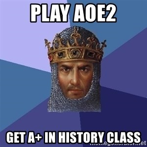 Age Of Empires - play AOE2 Get A+ in history class