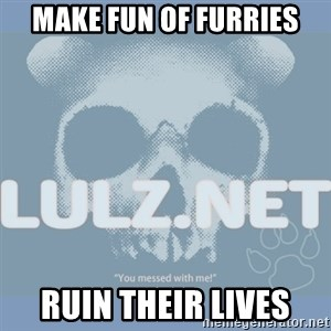 Lulz Dot Net - make fun of furries ruin their lives