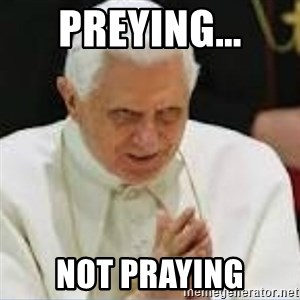 Pedo Pope - Preying... Not Praying