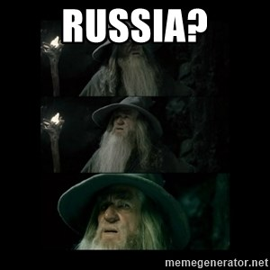 Confused Gandalf - russia?
