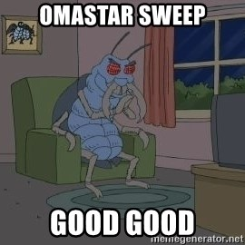 Good Good Bug - omastar sweep good good