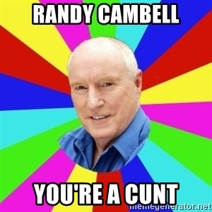 Alf Stewart - Randy cambell you're a cunt