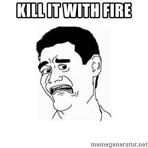 Yao Ming Scared - Kill it with fire
