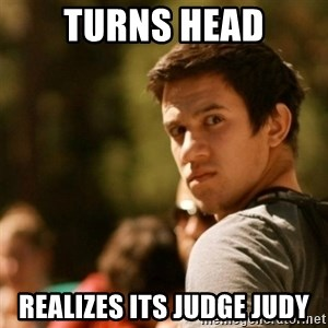 Disturbed David - turns head realizes its judge judy
