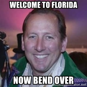 Pirate Textor - welcome to florida now bend over