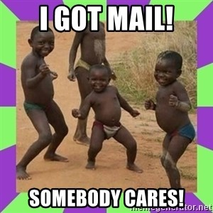 african kids dancing - I got mail! Somebody cares!