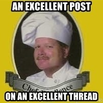Chef Excellence - An excellent post on an excellent thread