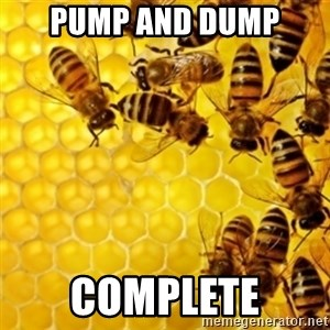 Honeybees - pump and dump complete