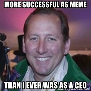Pirate Textor - more successful as meme than i ever was as a CEO