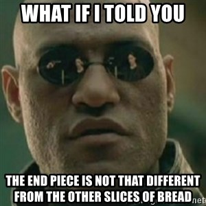 Nikko Morpheus - what if i told you the end piece is not that different from the other slices of bread