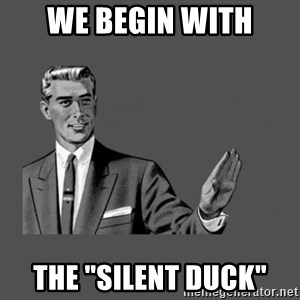 "Grammar Guy - we begin with the ""silent duck"""