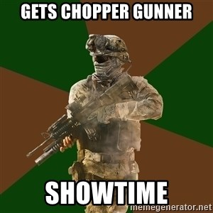 Call Of Duty Addict - gets chopper gunner showtime