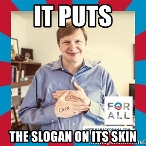 Jim Messina - It puts The Slogan on its skin