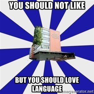 Tipichnuy MGLU - You should not like but you should love language