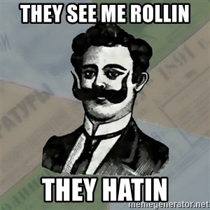 Old russian advisor - they see me rollin  they hatin