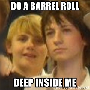 Thoughtful Child - do a barrel roll deep inside me