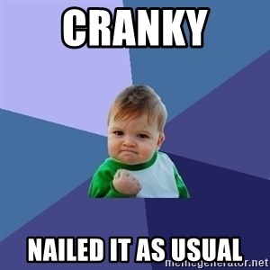 Success Kid - Cranky  nailed it as usual