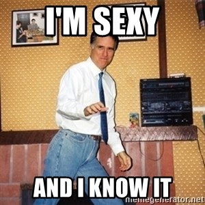 Mom Jeans Mitt - i'm sexy and i know it