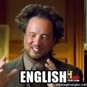 Therefore Aliens - english