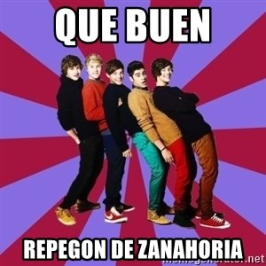 typical 1D - que buen  repegon de zanahoria