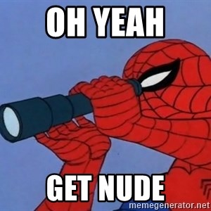 Spiderman Lunar Eclipse - Oh yeah  Get nude