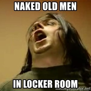 Egoraptor prepare - NAKED OLD MEN in locker room