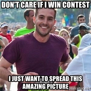 Incredibly photogenic guy - Don't care if I win contest I just want to spread this amazing picture