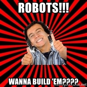Bad Luck Chuck - ROBOTS!!! Wanna build 'em????