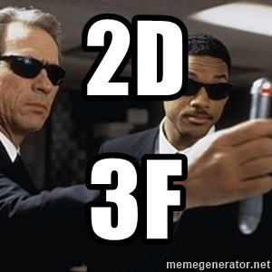 men in black - 2d 3f