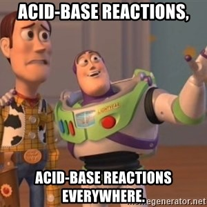 Tseverywhere - Acid-base reactions, ACID-BASE REACTIONS everywhere.