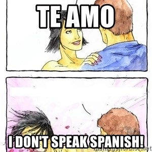 Alpha BF - TE AMO I don't speak spanish!