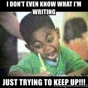 Black kid coloring - I don't even know what I'm writing just trying to keep up!!!