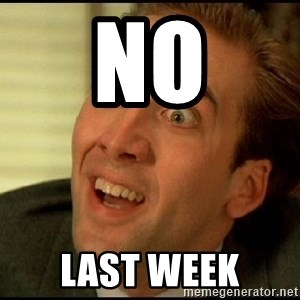You Don't Say Nicholas Cage - NO LAST WEEK
