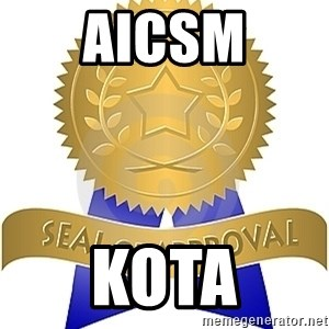 Seal Of Approval - AICSM KOTA