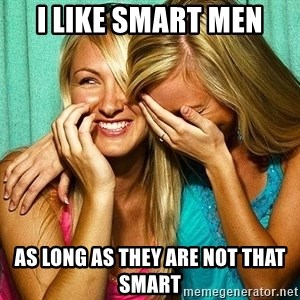 Laughing Whores - I LIKE SMART MEN AS LONG AS THEY ARE NOT THAT SMART