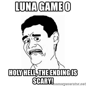 Yao Ming Scared - Luna Game 0 Holy hell, the ending is scary!