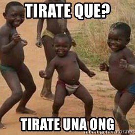 african children dancing - tirate que? tirate una ong