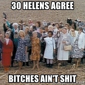 30 helens agree - 30 Helens agree bitches ain't shit