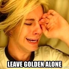 leave britney alone - leave golden alone