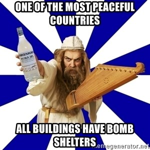 FinnishProblems - One of the most peaceful countries ALL buildings have bomb shelters