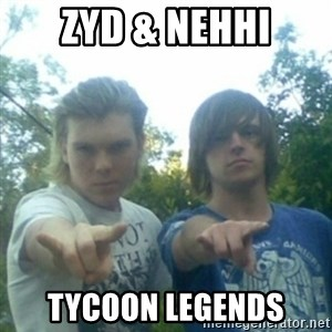 god of punk rock - zyd & nehhi Tycoon legends