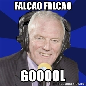 Optimistic Eddie Gray  - falcao falcao gooool