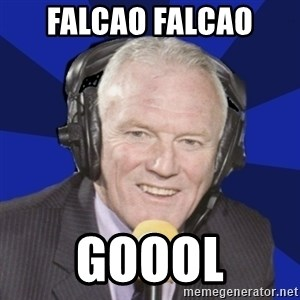Optimistic Eddie Gray  - falcao falcao  goool