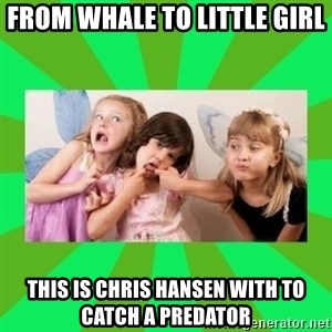 CARO EMERALD, WALDECK AND MISS 600 - from whale to little girl this is chris hansen with to catch a predator
