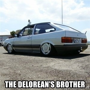 treiquilimei - THE DELOREAN'S BROTHER