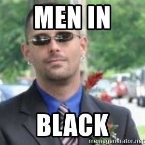ButtHurt Sean - MEN IN  BLACK
